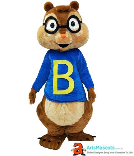 Alvin Chipmunks Mascot