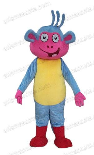 boots monkey mascot costume Deguisement Mascotte Custom