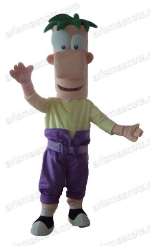Phineas and Ferb mascot