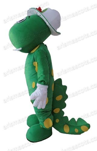 Product name  Dorothy Dinosaur mascot  sc 1 st  ArisMascots & Dorothy Dinosaur mascot costume