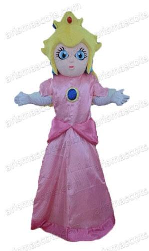 sc 1 st  ArisMascots & Princess Peach mascot costume