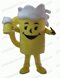 Beer Cup Mascot Costume