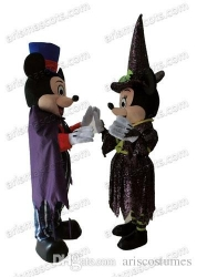 Halloween Mickey Minnie