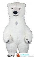 Inflatable Polar Bear Costume