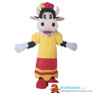 Carabelle Cow Mascot