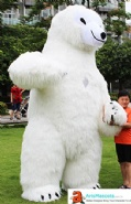 Inflatable Bear Costume