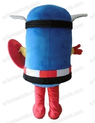 Captain America Minion mascot
