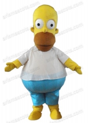 The Simpsons mascot