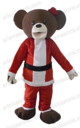 Christmas Bear Mascot Suit
